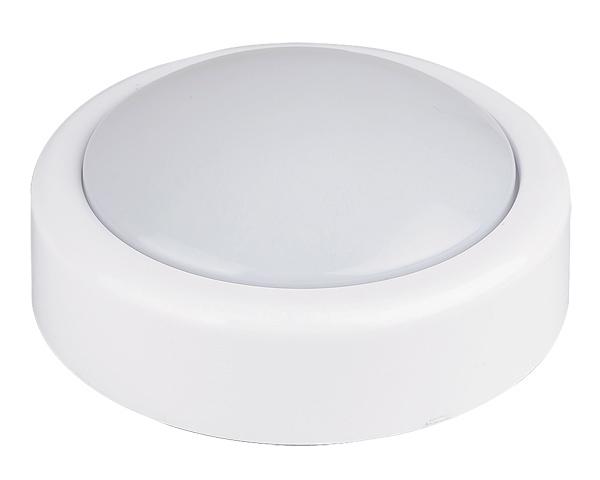 LED Nachtlicht Kinder weiß rund Touch Lampe