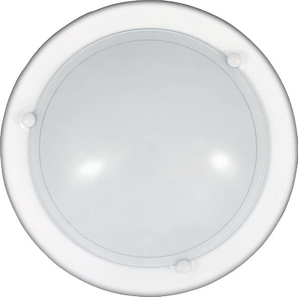 Zeitlose runde Wandleuchte Weiß