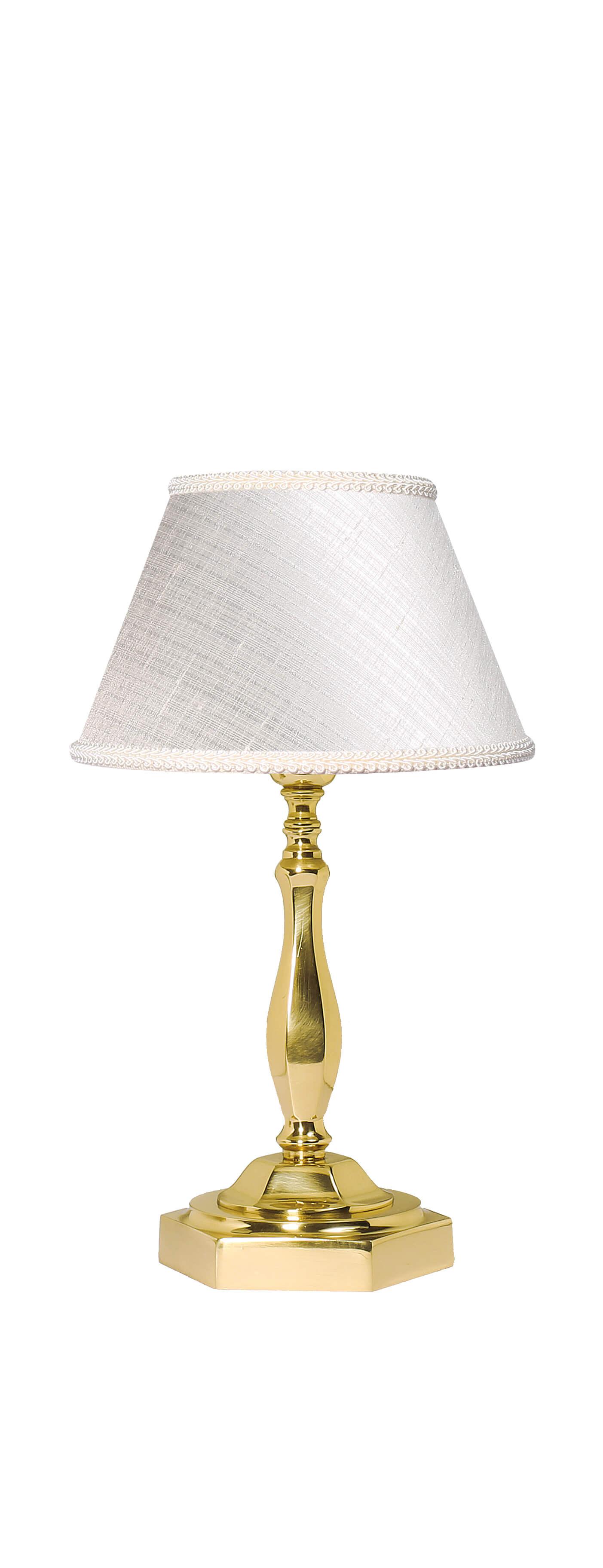 Klassische Tischleuchte Nachttischlampe E14 Abat