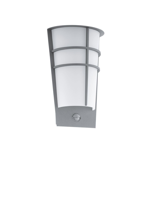 Sensor Wandaußenleuchte LED  Breganzo Silber 2-Flmg