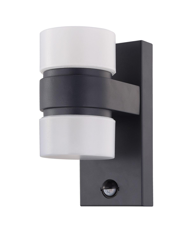 Wandleuchte LED Außen Atollari Weiß 2-Flmg