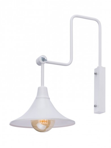 Flexible Wandleuchte ANTIKA Ø25cm Retro Lampe Wand