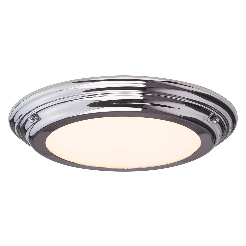 Bad Deckenleuchte LED ANISA in Chrom Ø36cm Lampe