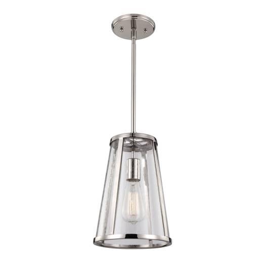 Deckenleuchte FLOR in Nickel Ø20cm Esstisch Lampe