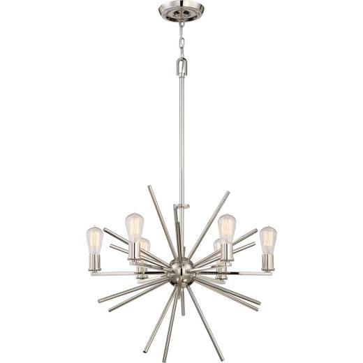 Kronleuchter NELI in Silber Ø65cm kürzbar Lampe