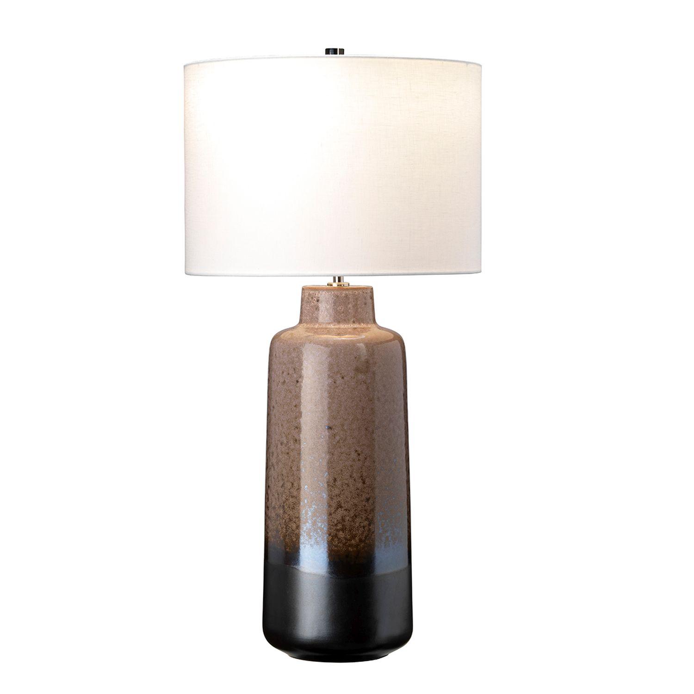 Tischleuchte MYNDIR Braun Creme Keramik 76cm Lampe