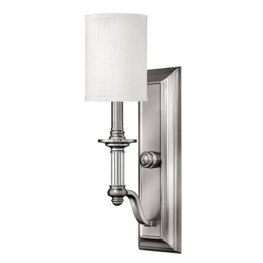 Wandlampe LUANA in Nickel B:11cm Design Lampe