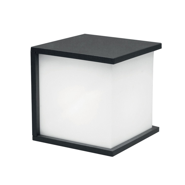 Wandlampe Außen Anthrazit Aluminium eckig IP44