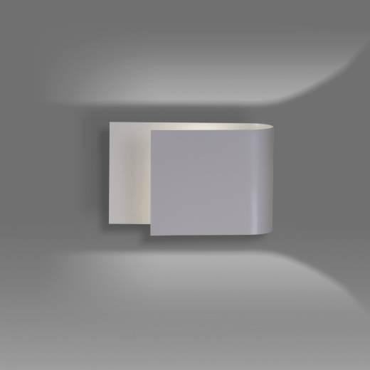 Moderne Wandleuchte Grau Metall up and down G9
