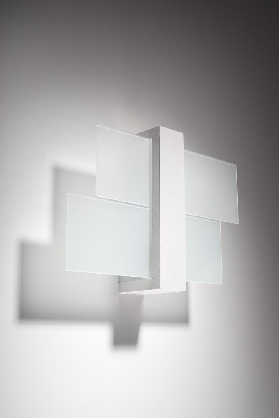 Wandleuchte LEDA in Weiß