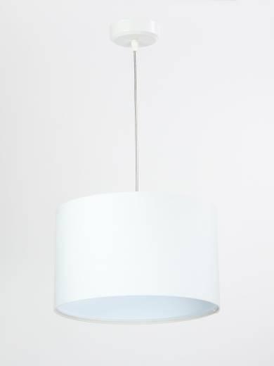 Hängeleuchte Weiß Retro Esstisch Stoff Lampe