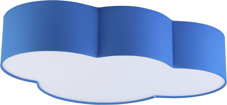 Deckenlampe für Kinder Wolke Blau 4-flmg niedlich
