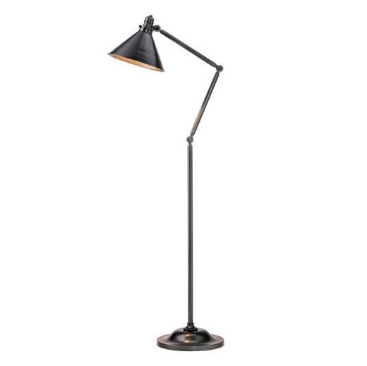 Stehlampe ISMENE in Messing 167cm Bodenleuchte