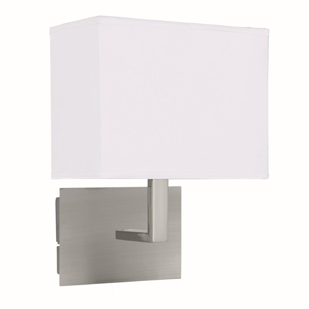 Bauhaus Wandleuchte Wandlampe Silber farben