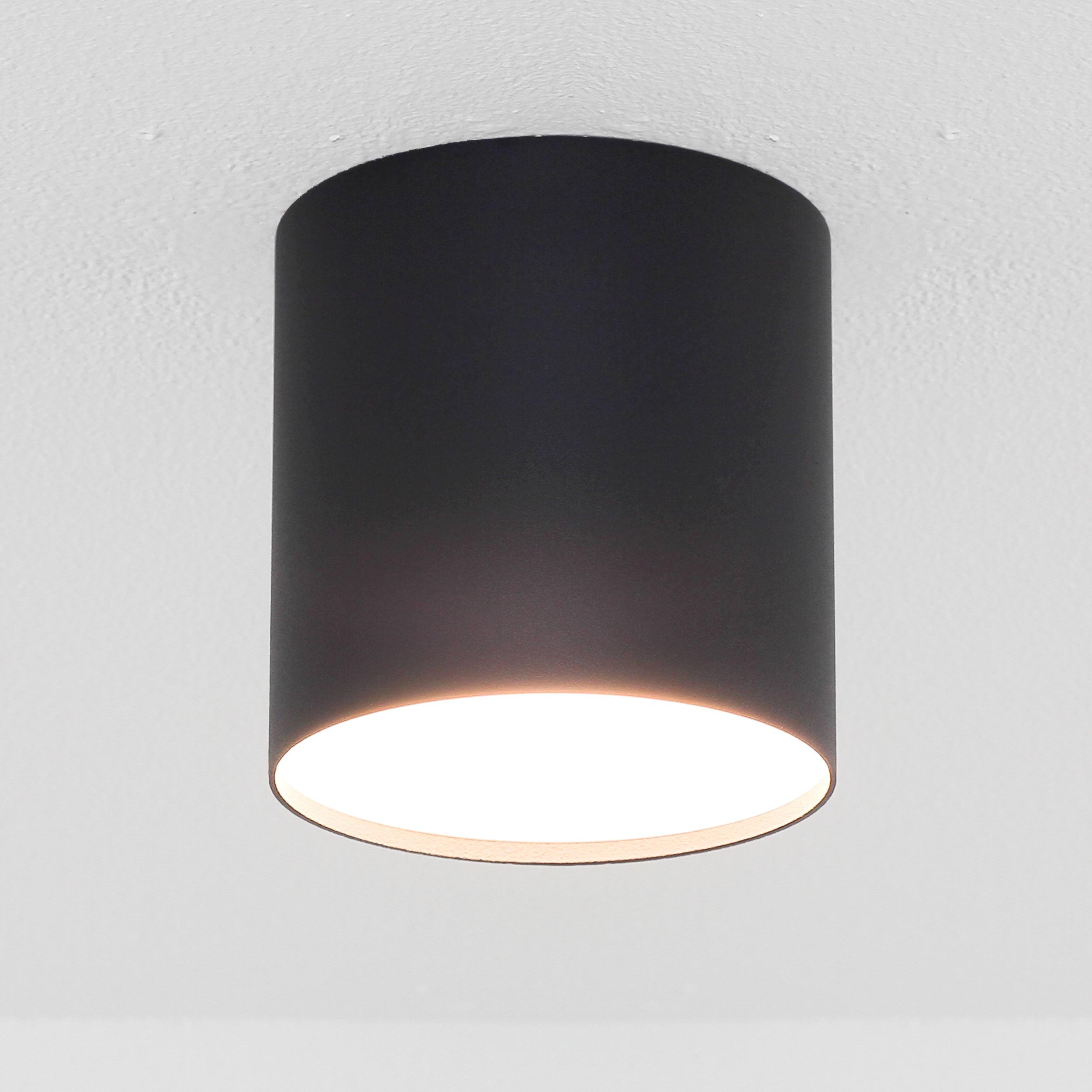 Moderne Spot Lampe Decke Schwarz Ø13cm GU10 POINT