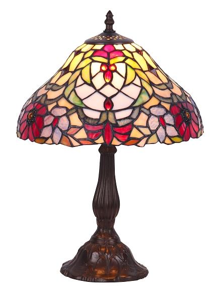 Runde Tiffany Tischleuchte Tischlampe E27 MIRELLA
