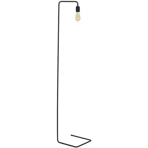 Stehlampe Schwarz Metall Wohnzimmer 160cm
