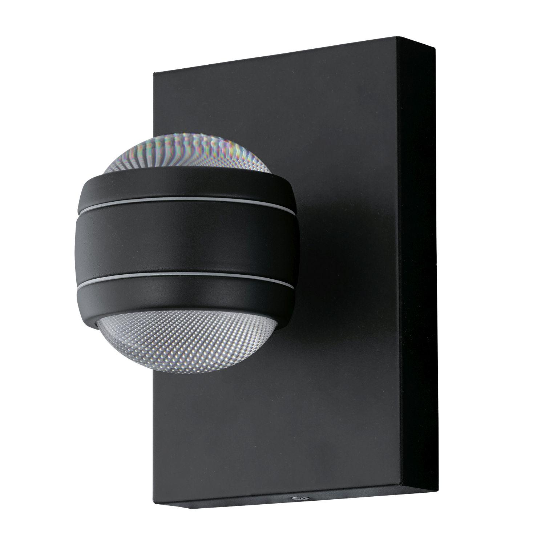 Wandaußenleuchte LED  Sesimba Schwarz 2-Flmg