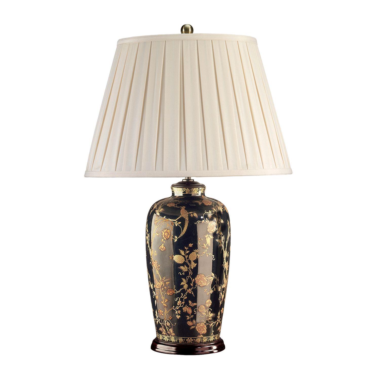 Edle Tischleuchte Porzellan 74cm Klassisch elegant