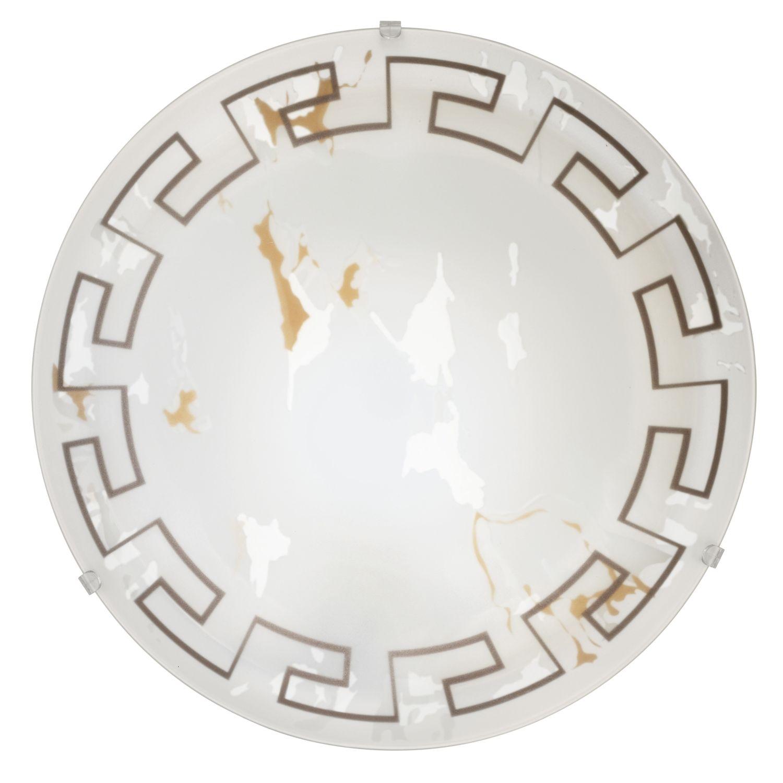 Deckenleuchte Twister Weiß Ø39,5cm 2-Flmg