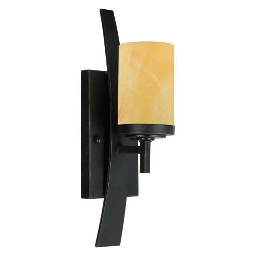 Wandlampe LAPIDE Gelb Design Lampe Wohnzimmer