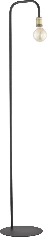 Industriestil Stehlampe RETRO Schwarz H155cm E27