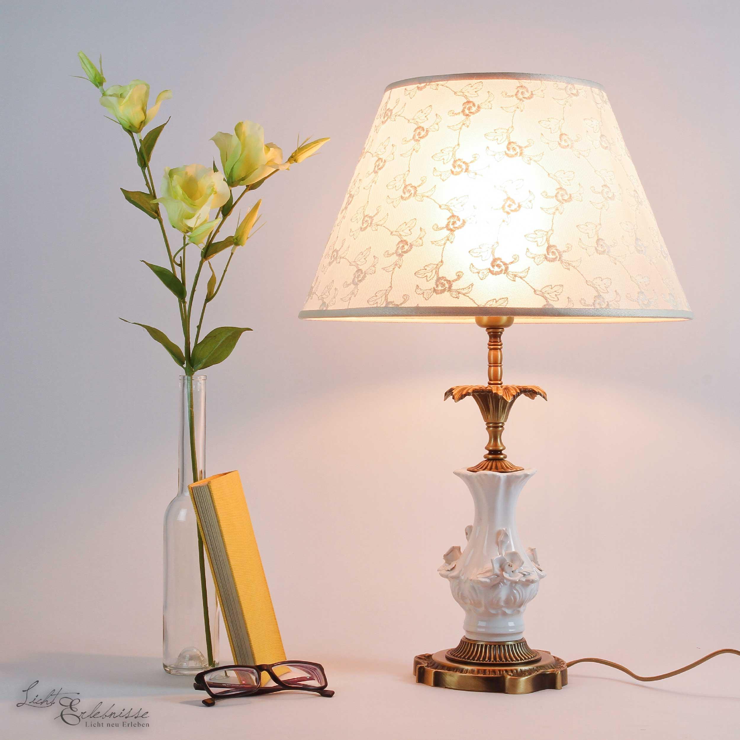 Jugendstil Nachttischlampe