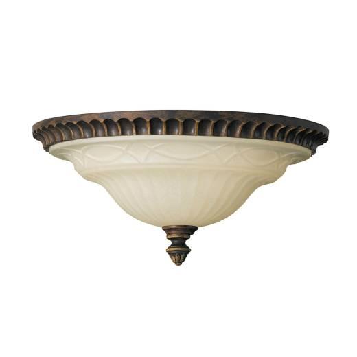 Deckenleuchte ANABELL 1 Creme Ø33cm Landhaus Lampe