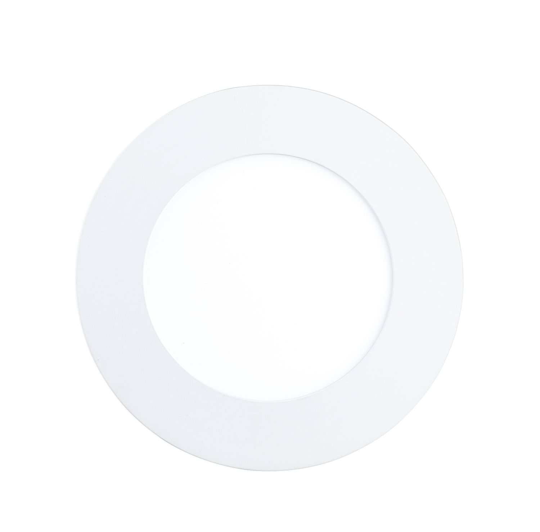 Runder Einbau LED Spot Fueva 1 Weiß Ø12cm