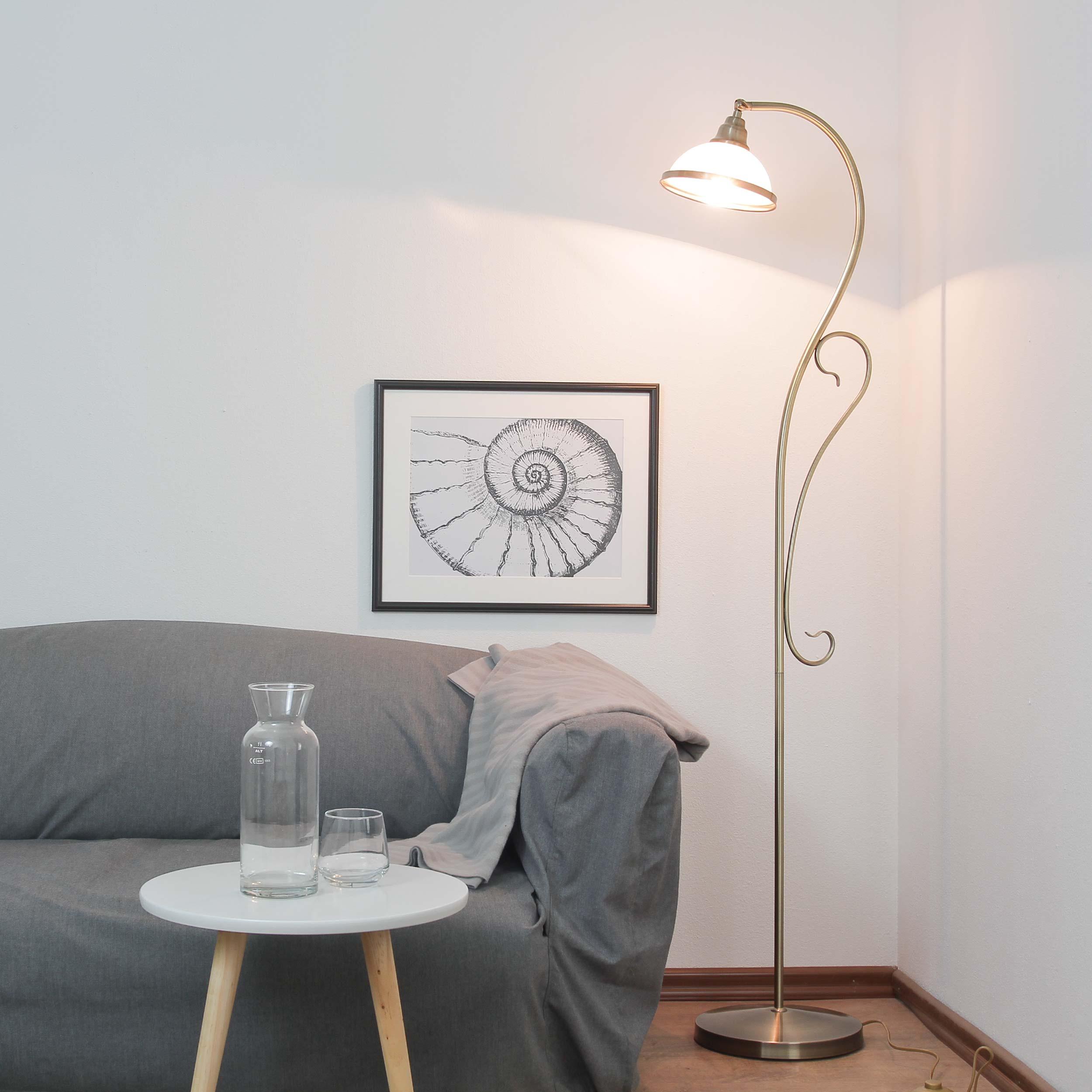 Jugendstil Stehlampe Elisett