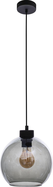 Deckenleuchte ATIRI in Graphit Glas Esstisch Lampe