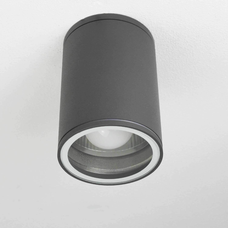 Außen Deckenlampe Modern in Anthrazit