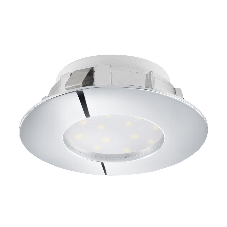 Zeitloser Einbau LED Spotstrahler Pineda Chrom Ø7cm