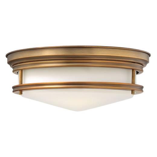 Deckenleuchte COBAN Bronze Ø36cm Jugendstil Lampe