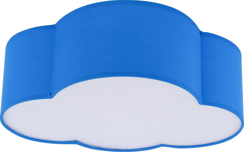 Kinderzimmerlampe WOLKI Blau Decke Wolkenlampe
