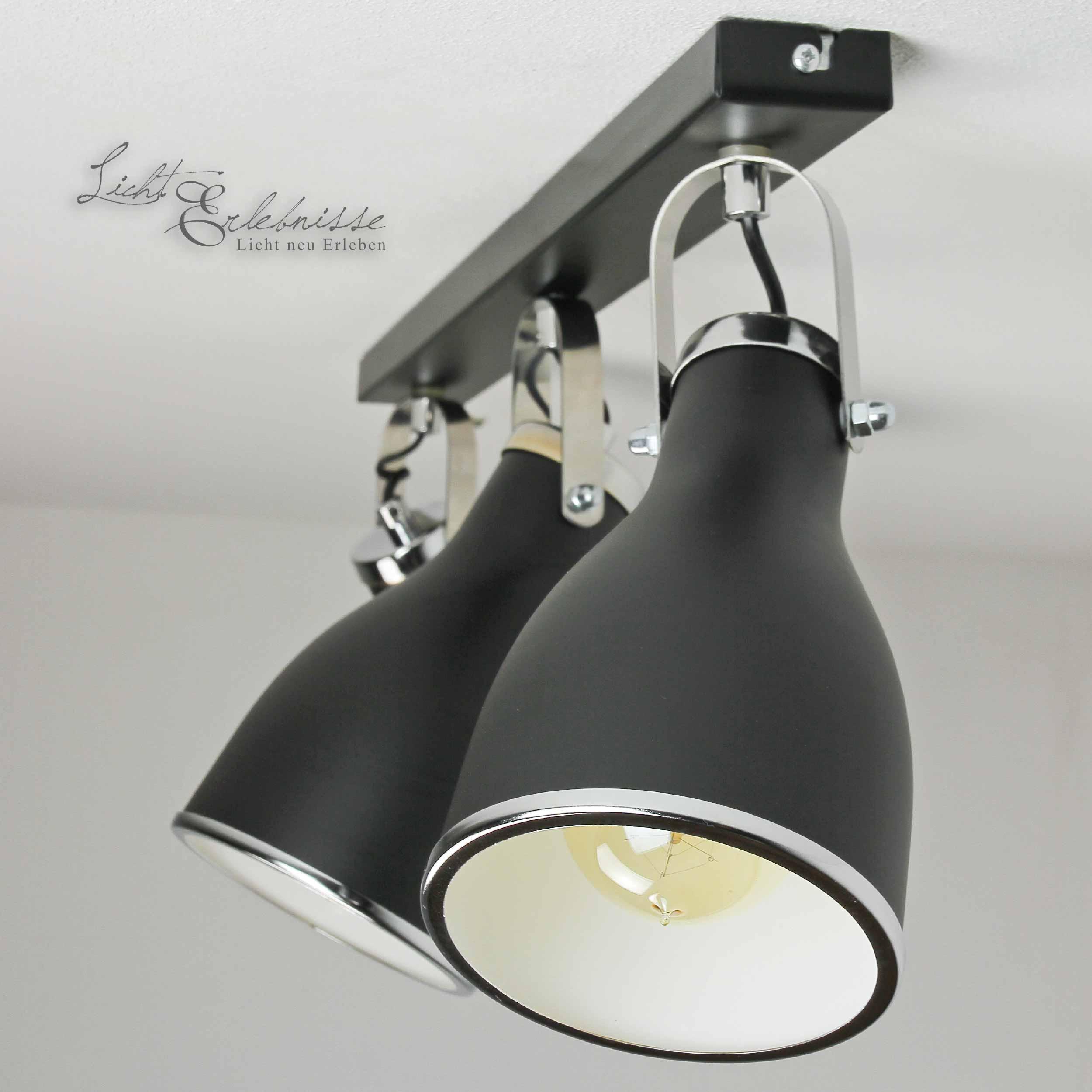 Schwenkbare Deckenlampe Modern in Chrom für die Küche