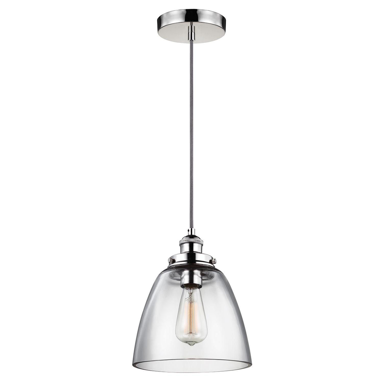 Pendelleuchte Glas Industrie Design verstellbar