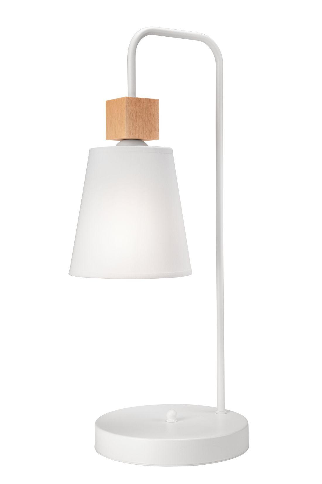 Stylische Tischlampe REILLY Weiß Skandinavisch