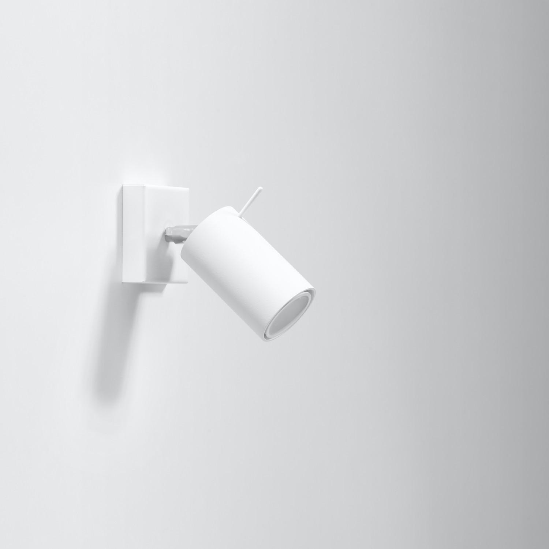 Aufbau Spotstrahler ETNA in Weiß