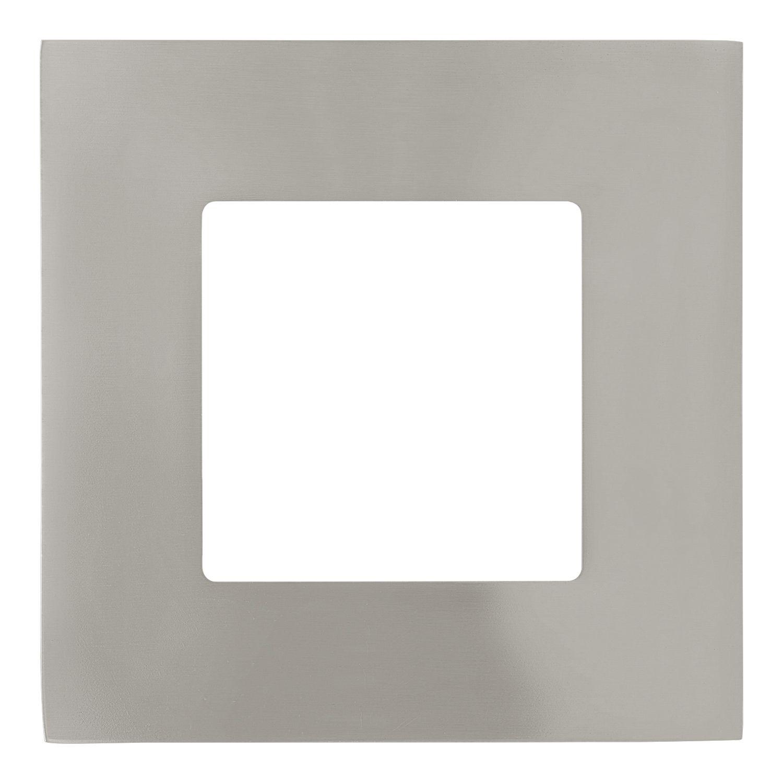 Einbau Lampe LED Fueva 1 Nickel-Matt Breiter Rand