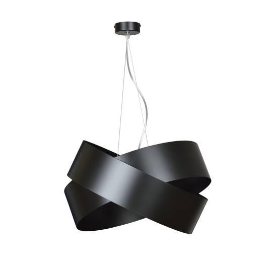 Hängelampe Schwarz Metall Design höhenverstellbar