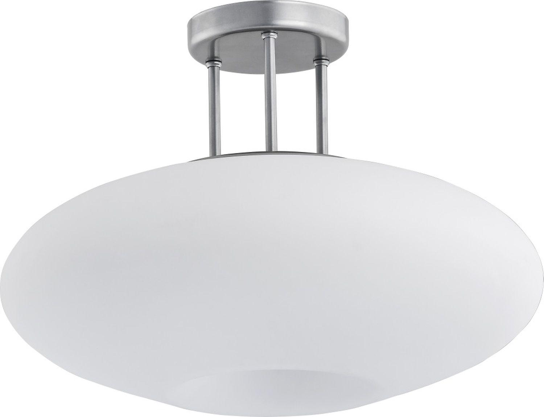 Deckenleuchte Weiß Chrom E27 Esstisch Lampe DUKU