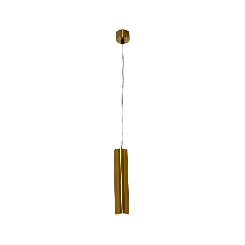 Hängelampe in Messing Ø5,5cm Metall Wohnzimmer