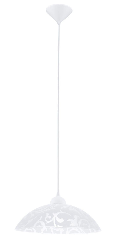 Hängeleuchte Vetro Weiß M Ø35cm