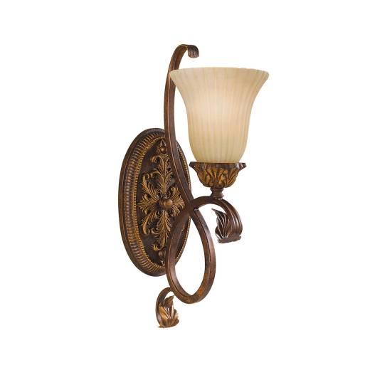 Wandleuchte ANABELL 10 in Bronze B:15cm Lampe