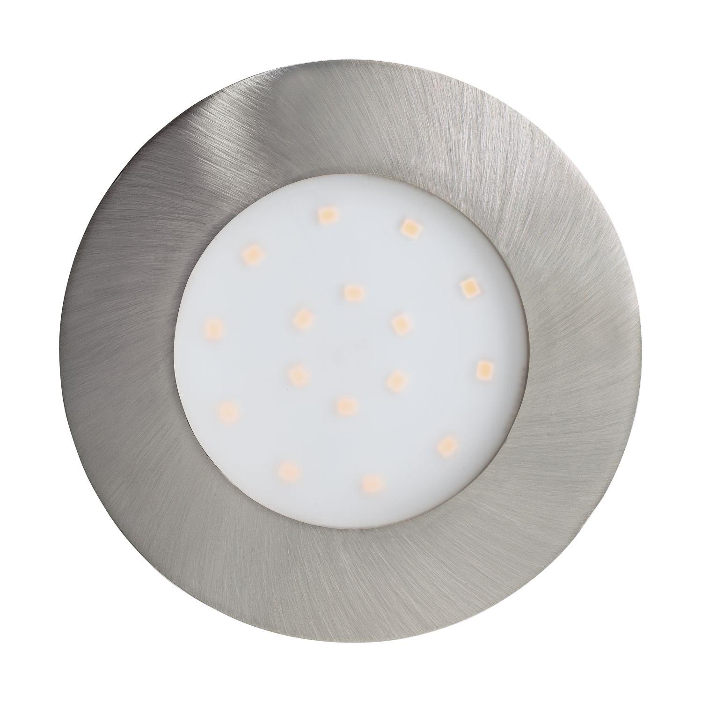 Einbau LED Spotstrahler Pineda-Ip Nickel-Matt 12w