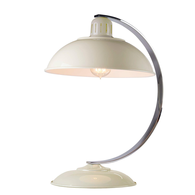 Tischleuchte SECRETER Creme Bauhaus Lampe Büro