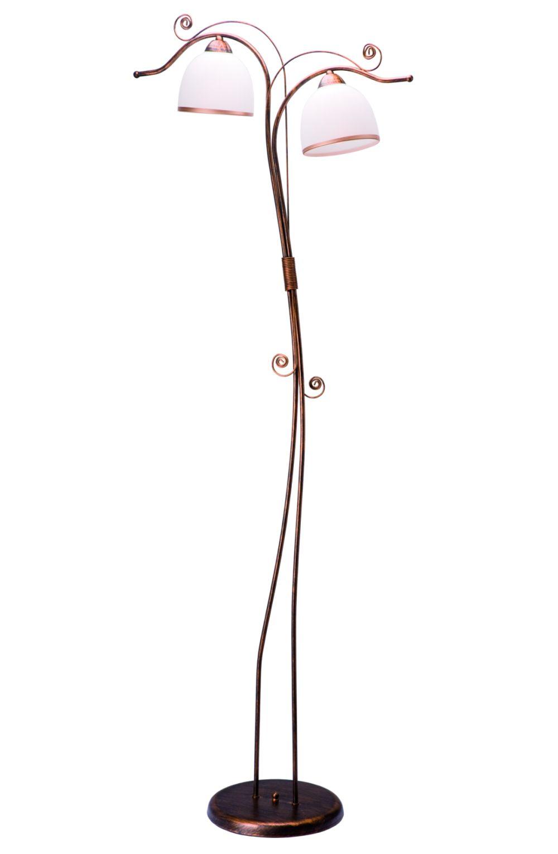 Wohnzimmer Stehlampe Schwarz Jugendstil 158cm
