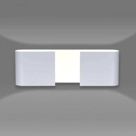 Indirekte Beleuchtung Weiß Metall eckig Up Down