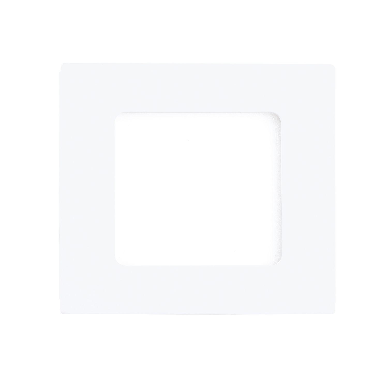 Einbau LED Spotstrahler Fueva 1 Weiß Breiter Rand